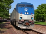 Amtrak &quot;Missouri River Runner&quot; in Kirkwood Station--June 23, 2010